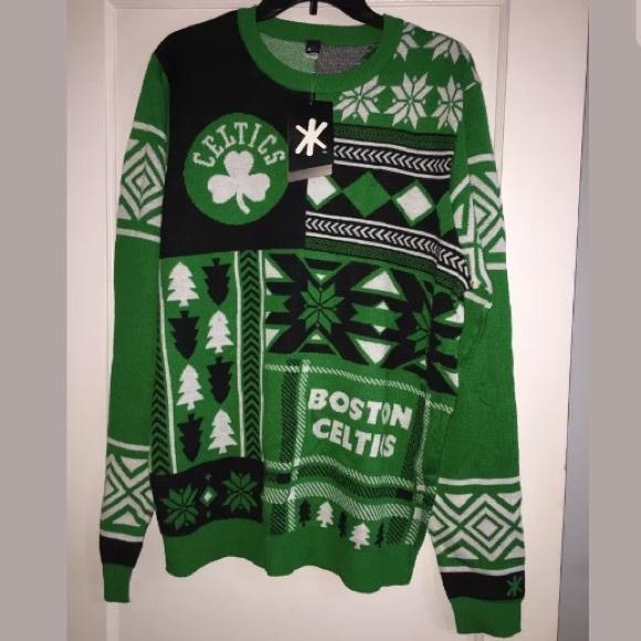 NBA Other - 🍀 🆕 BOSTON CELTICS NBA Klew Sweater Size L RARE